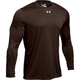 【中古】【輸入品・未使用未開封】Under Armour Men's UA Locker 2.0 Long Sleeve Shirt (Medium Brown)
