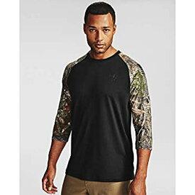 【中古】【輸入品・未使用未開封】Under Armour Men's Freedom Flag Utility T-Shirt Black (002)/Maverick Brown Small