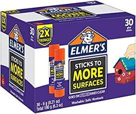【中古】【輸入品・未使用未開封】(30-Count Regular Extra Strength) - Elmer's Extra Strength School Glue Sticks Washable 6 Gramme 30 Count