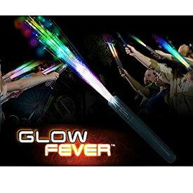 【中古】【輸入品・未使用未開封】Glow Fever 光ファイバースティック 光る杖 LEDマジックワンド 誕生日 結婚式 独身最後のブライダルシャワー ギャツビー グローパーティー用品 1