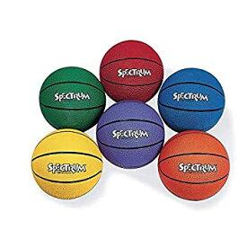 【中古】【輸入品・未使用未開封】S&S Worldwide Spectrum Rubber Basketball - Official-YELLOW