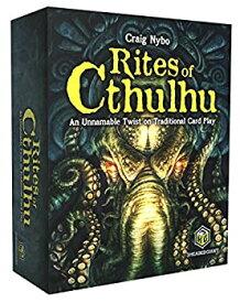 【中古】【輸入品・未使用未開封】Rites of Cthulhu the Game
