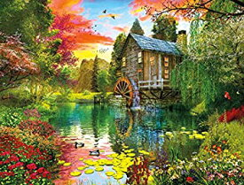 【中古】【輸入品・未使用未開封】Buffalo Games - Reflections - Sunset at The Mill - 750 Piece Jigsaw Puzzle