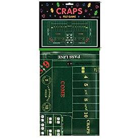 "【中古】【輸入品・未使用未開封】Craps Casino Party Table Cover Felt 37"" x 6'."