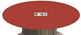 【中古】【輸入品・未使用未開封】レッドフェルトPokerテーブルラウンド60?cmテーブルのカバー???フィットボンネット??????ゴムバンド