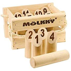 【中古】【輸入品・未使用未開封】木箱入りモルック
