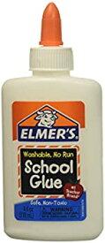 【中古】【輸入品・未使用未開封】Elmer's Washable No-Run School Glue 4 oz 2 Bottles (E304) Model: by Toys & Child