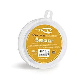 【中古】【輸入品・未使用未開封】Seaguar Gold Label 100%フルオロカーボンリーダー (DSF) 25ヤード 25ポンド (25GL25)