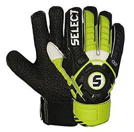 【中古】【輸入品・未使用未開封】(7 Black/Green) - SELECT 03 Youth Hard Ground Goalkeeper Gloves with Finger Protection