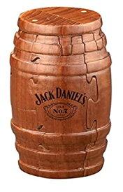 【中古】【輸入品・未使用未開封】Jack Daniel's Real Wooden Barrel Puzzle 9pc (Jack Daniel's Tennessee Whiskey Bottle) Gift Boxed Exclusive Product