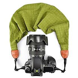 【中古】【輸入品・未使用未開封】LIFEMATE Scarf Camera StrapDSLR Camera Strap Universal Neck StrapFabric of Bohemia Floral Scarf Camera Strap (Green) [並行輸入品]