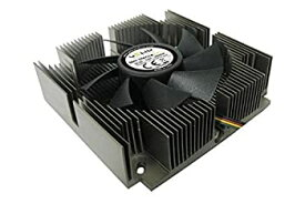 【中古】【輸入品・未使用未開封】Gelid Solutions Slim Silence i-Plus 75mm Ball Bearing CPU Cooler for Intel LGA 775/1155/1150/1156 CC-SSILENCE-IPLUS [並行輸入品]