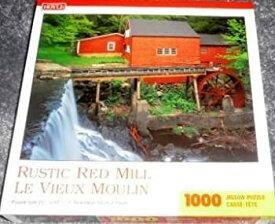 【中古】【輸入品・未使用未開封】Rustic Red Mill 1000 Piece Jigsaw Puzzle [並行輸入品]