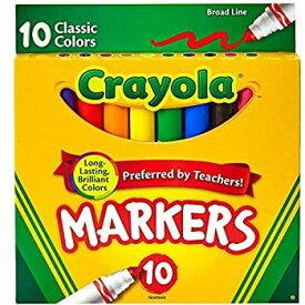 【中古】【輸入品・未使用未開封】[クレヨラ]Crayola 10ct Classic Broad Line Markers Case of 24 packs CR-58-7722-24 [並行輸入品]