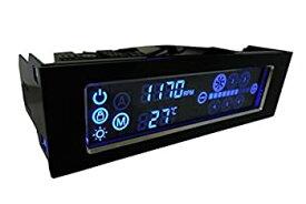 【中古】【輸入品・未使用未開封】Gelid Speed Touch 6 LCD Fan Speed Controller [並行輸入品]
