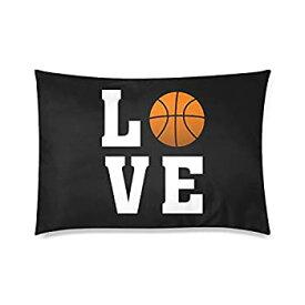 【中古】【輸入品・未使用未開封】Cool Love Basketball枕カバー???ジッパー枕カバー、枕プロテクターカバーケース、バスケットボールファンの素晴らしいギフト???20?x 30インチ、
