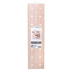 【中古】【輸入品・未使用未開封】Darice 30053050 System: Wooden Pegboard Base 6 x 24 Inches Unfinished/Natural