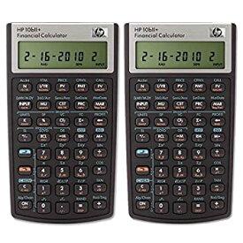 【中古】【輸入品・未使用未開封】HP 10bii +金融電卓(nw239aa)パックof 2
