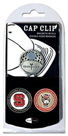 【中古】【輸入品・未使用未開封】Team Golf 22647 North Carolina State University Golf Ball Marker Hat Clip