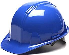 【中古】【輸入品・未使用未開封】(Blue) - Pyramex Cap Style 6 Point Snap Lock Suspension Hard Hat