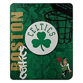 【中古】【輸入品・未使用未開封】NBAフリースHard KnocksデザインThrow Blanket (50インチby 60インチ グリーン