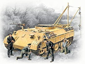 【中古】【輸入品・未使用未開封】ICM Models Bergepanther with German Tank Crew Building Kit おもちゃ [並行輸入品]