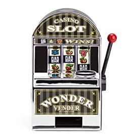 【中古】【輸入品・未使用未開封】Bars and Sevens Slot Machine Bank with Spinning Reels by Brybelly