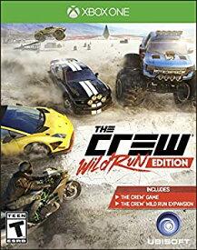 【中古】【輸入品・未使用未開封】The Crew Wild Run Edition (輸入版:北米) - XboxOne