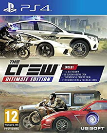 【中古】【輸入品・未使用未開封】The Crew Ultimate Edition - PS4