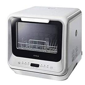 【中古】【輸入品日本仕様】シロカ 2WAY食器洗い乾燥機 [食洗機/工事不要/除菌率99.9%/分岐水栓可/タイマー6段階設定] SS-M151 シルバー
