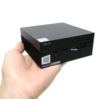 【中古】手のひらサイズ新品SSD480GBASUSMiniPCPN60第8世代Corei38130UWindows10LibreOffice無線LANBluetooth中古パソコンデスクトップ本体