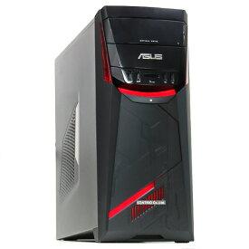 【中古】ゲーミングPC ASUS G11DF Ryzen 3-1200 3.1GHz 4コア SSD+HDD 256GB+1TB GeForce GTX1050 Windows10 LibreOffice 無線LAN Bluetooth 中古パソコン デスクトップ 本体 ゲームパソコン ゲーム用 eスポーツ