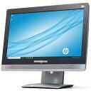【中古】一体型PC 大容量新品SSD HP ProOne 600 G2 Core i5 6500 3.2GHz 4コア メモリ8GB 512GB 21.5インチ フルHD IP…