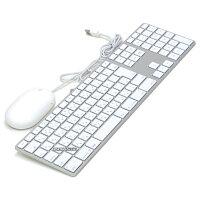 【中古】美品Appleキーボードマウスセット有線ワイヤードJIS日本語A1243A1152