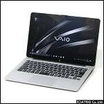 【中古】ノートパソコンタブレットVAIO(SONY)VJZ13B第6世代Corei56267U2.9GHz8GBSSD128GBWindows1013.3インチ無線LANOfficeペン付