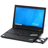 【中古】新品SSD搭載LenovoレノボThinkPadL570第6世代Corei5メモリ4GBWindows1015インチテンキー無線LANWebカメラBluetoothDVDマルチLibreOffice中古パソコンノートパソコン本体メモリ増設オプションあり法人ビジネス黒ブラック