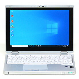 【中古】ノートPC&Windowsタブレット 新品SSD WUXGA液晶 Panasonic Let's note パナソニック レッツノート RZ4 RZ4DFATS Core M 5Y71 1.2GHz 4GB 256GB 10インチ Windows10 無線LAN WPS Office 中古パソコン ノートパソコン 本体 モバイル テレワーク