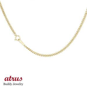 18金 ネックレス メンズチェーン 50cm 喜平 2面カットキヘイ イエローゴールドk18 2.6ミリ幅 地金 男性 シンプル の 送料無料 人気