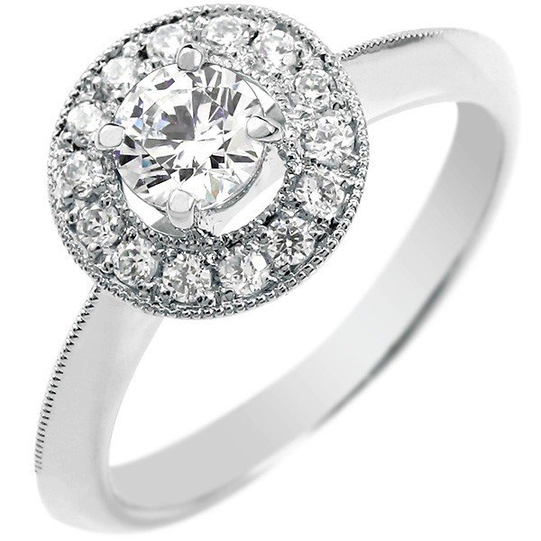 鑑定書付 婚約指輪 エンゲージリング ダイヤモンド プラチナリング 指輪 大粒 取り巻き ダイヤ ストレート レディース ブライダルジュエリー ウエディング 贈り物 誕生日プレゼント ギフト ファッション お返し