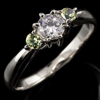 婚約指輪 エンゲージリング 鑑定書付 プラチナ ダイヤモンド リング ペリドット 指輪 大粒 ダイヤ ダイヤモンドリング ダイヤ ストレート レディース ブライダルジュエリー ウエディング 贈り物 誕生日プレゼント ギフト お返し 春コーデ