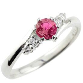 婚約指輪 エンゲージリング ルビー ダイヤモンド リング 指輪 一粒 大粒 ストレート シルバー レディース ブライダルジュエリー ウエディング 贈り物 誕生日プレゼント ギフト ファッション お返し 妻 嫁 奥さん 女性 彼女 娘 母 祖母 パートナー 送料無料