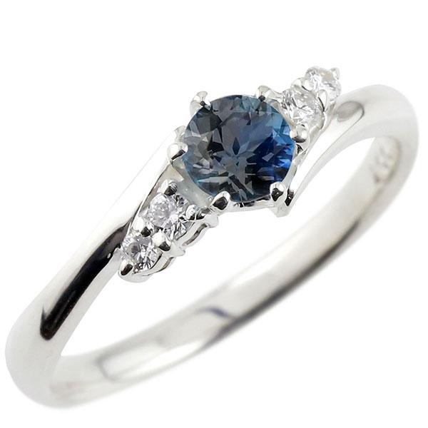 婚約指輪 エンゲージリング サファイア ダイヤモンド リング 指輪 一粒 大粒 ストレート シルバー レディース ブライダルジュエリー ウエディング 贈り物 誕生日プレゼント ギフト ファッション お返し