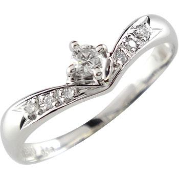 鑑定書付き プラチナリング ダイヤモンド リング 指輪 一粒 0.16ct SI ダイヤモンドリング ダイヤ ストレート 贈り物 誕生日プレゼント ギフト ファッション