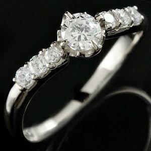 婚約指輪 エンゲージリング プラチナ ダイヤモンド リング ダイヤモンドリング ダイヤ ストレート 贈り物 誕生日プレゼント ギフト ファッション 妻 嫁 奥さん 女性 彼女 娘 母 祖母 パート