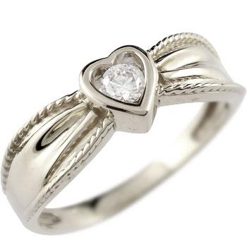 婚約指輪 エンゲージリング ハート プラチナ ダイヤモンド リング 一粒 ダイヤ 指輪 ダイヤモンドリング ダイヤ ストレート レディース ブライダルジュエリー ウエディング 贈り物 誕生日プレゼント ギフト ファッション お返し