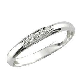 婚約指輪 安い エンゲージリング プラチナ ダイヤモンド リング 指輪 リング 指輪 ダイヤ ストレート スリーストーン 送料無料