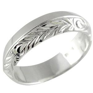 ハワイアンジュエリー 婚約指輪 婚約指輪 エンゲージリング プラチナ 指輪 リング 幅広 pt900 ストレート 女性 ペア 送料無料