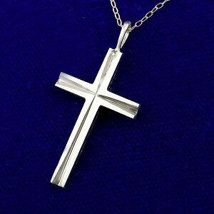 メンズ プラチナ999 純プラチナ クロス 十字架 ペンダント ネックレス トップ チャーム 人気 pt999 ホーニング加工 男性用 送料無料