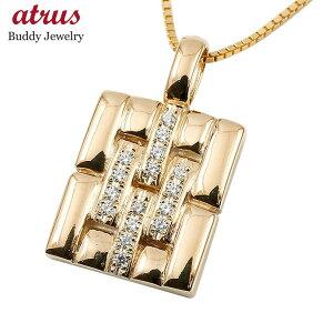 ネックレスメンズ ダイヤモンド ピンクゴールドk10 メタルバンド 時計 ペンダントトップ 10金 男性用 ダイヤ 人気 シンプル の 送料無料
