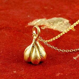 純金 メンズ 24金 ゴールド 24K にんにく ペンダント ガーリック ネックレス トップ 24金 ゴールド k24 メンズ 男性用 送料無料